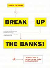 Break Up The Banks!: A Practical Guide to Stopping the Next Global Financial Meltdown