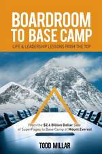 Boardroom to Base Camp