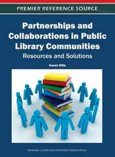 Partnerships and Collaborations in Public Library Communities