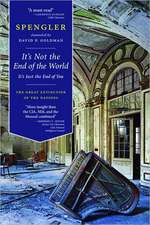 It's Not the End of the World, It's Just the End of You:  The Great Extinction of the Nations