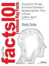 Studyguide for the Legal Environment of Business