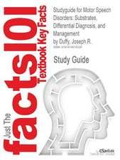 Studyguide for Motor Speech Disorders