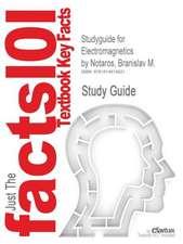 Studyguide for Electromagnetics by Notaros, Branislav M., ISBN 9780132433846