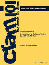 Studyguide for Foundations of Software Testing by Mathur, Aditya P., ISBN 9788131716601