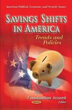 Savings Shifts in America