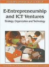 E-Entrepreneurship and ICT Ventures