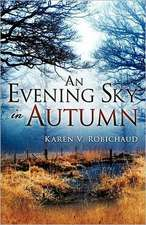 An Evening Sky in Autumn