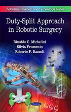 Duty-Split Approach in Robotic Surgery
