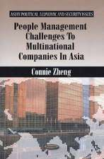 People Management Challenges to Multinational Companies in Asia