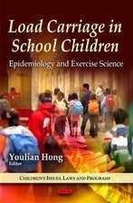 Load Carriage in School Children