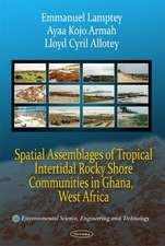 Spatial Assemblages of Tropical Intertidal Rocky Shore Communities in Ghana, West Africa