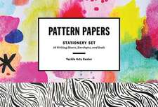 Pattern Papers Stationery Set:  18 Writing Sheets, Envelopes, and Seals [With Envelope and Seals and 18 Writing Sheets]