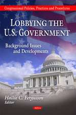 Lobbying the U.S. Government