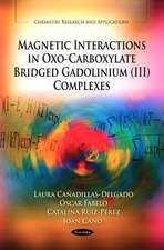 Magnetic Interactions in Oxo-Carboxylate Bridged Gadolinium (III) Complexes