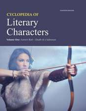 Cyclopedia of Literary Characters, Fourth Edition:  Print Purchase Includes Free Online Access