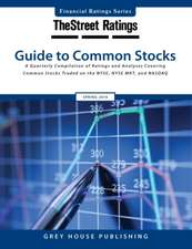 Thestreet Ratings Guide to Common Stocks, Winter 15/16