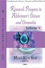 Research Progress In Alzheimer's Disease & Dementia