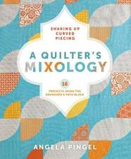 A Quilter's Mixology:  16 Projects Using the Drunkard's Path Block