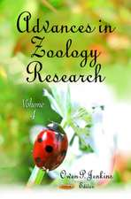 Advances in Zoology Research