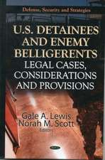 U.S. Detainees & Enemy Belligerents