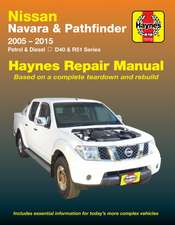 Nissan Navara And Pathfinder (Aus)