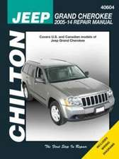 Grand Jeep Cherokee Chilton Service And Repair Manual