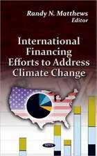 International Financing Efforts to Address Climate Change