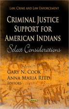 Criminal Justice Support for American Indians