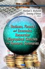 Business, Finance & Economcs Researcher