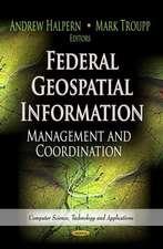 Federal Geospatial Information