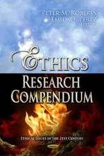 Ethics Research Compendium