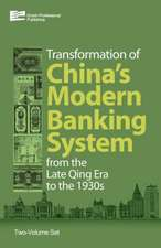 The Transformation of China's Banking System:  From the Late Qing Era to the 1930s