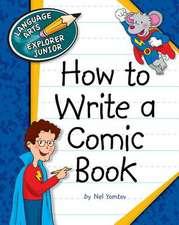How to Write a Comic Book