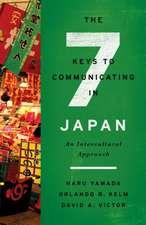THE SEVEN KEYS TO COMMUNICATING IN JA