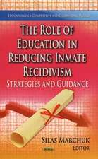 The Role of Education in Reducing Inmate Recidivism