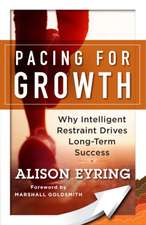 Pacing for Growth: Why Intelligent Restraint Drives Long-term Success