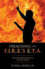 Preaching with F.I.R.E.'s E.T.A.
