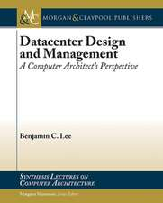 Datacenter Design and Management