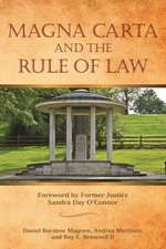 Magna Carta and the Rule of Law