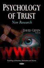Psychology of Trust