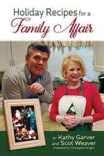 Holiday Recipes for a Family Affair