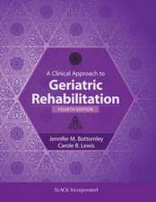 Clinical Approach to Geriatric Rehabilitation
