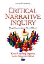 Critical Narrative Inquiry