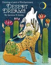 Desert Dreams - Coloring Book