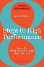 8 Steps to High Performance
