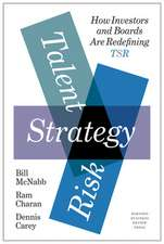 Talent, Strategy, Risk
