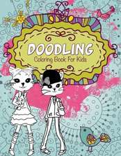 Doodling Coloring Book for Kids