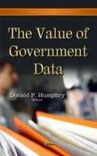 Value of Government Data