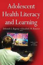 Adolescent Health Literacy and Learning