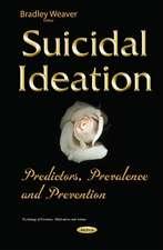 Suicidal Ideation: Predictors, Prevalence & Prevention